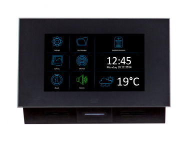 2N Indoor Touch IP WLAN, schwarz